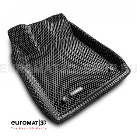 3D коврики Euromat3D EVA в салон для Lexus ES (2015-) № EM3DEVA-003214