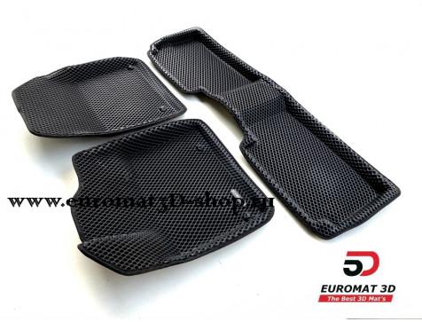 3D коврики Euromat3D EVA в салон для Citroen C5 (2008-) № EM3DEVA-001712